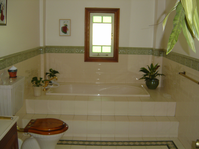 European-style bathrooms